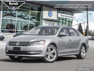Used 2014 Volkswagen Passat Highline 2.0 TDI 6sp DSG at w/ Tip for sale in Ottawa, ON