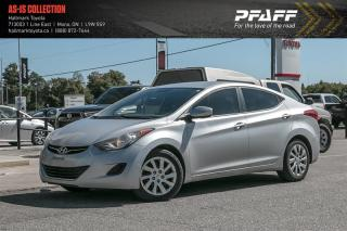 Used 2013 Hyundai Elantra GL at for sale in Orangeville, ON
