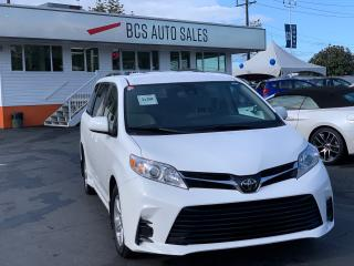 Used 2018 Toyota Sienna Power Sliding Doors, Power Seat, Low kms for sale in Vancouver, BC