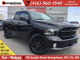 Used 2018 RAM 1500 EXPRESS | 4X4 | QUAD CAB | 5.7L V8 | B/U CAM | for sale in Georgetown, ON