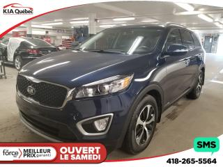 Used 2017 Kia Sorento EX* V6* AWD* 7 PLACES* CUIR* CARPLAY* HITCH* for sale in Québec, QC