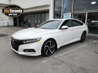 Used 2018 Honda Accord Sport | One Owner | No Accidents | Honda Dealer Serviced for sale in North York, ON