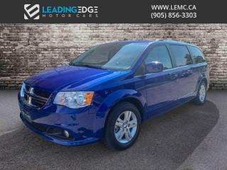 Used 2018 Dodge Grand Caravan Crew Nav, Leather for sale in Woodbridge, ON