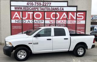 Used 2016 RAM 1500 ST - All Credit Approved for sale in Scarborough, ON
