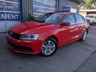 Used 2015 Volkswagen Jetta Comfortline + toit + caméra for sale in Boisbriand, QC