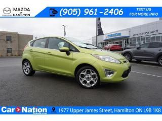 Used 2012 Ford Fiesta SES | AS-TRADED | HEATED SEATS | XM RADIO for sale in Hamilton, ON