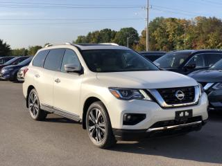 Used 2019 Nissan Pathfinder Platinum for sale in Midland, ON
