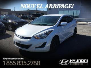 Used 2015 Hyundai Elantra GL + A/C + BLUETOOTH + GR. ELECTRIQUE !! for sale in Drummondville, QC