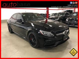 Used 2016 Mercedes-Benz C-Class C63 S AMG NIGHT DISTRONIC PREMIUM FORGED MATTE WHEELS for sale in Vaughan, ON
