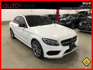 Used 2016 Mercedes-Benz C-Class C450 AMG 4MATIC HUD DISTRONIC PREMIUM 360 CAM CLEAN CARFAX for sale in Vaughan, ON