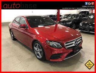 Used 2017 Mercedes-Benz E-Class E300 4MATIC PREMIUM WIRELESS PHONE CHARGING AMG WHEELS for sale in Vaughan, ON