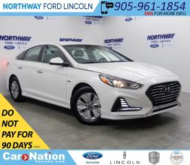 Used 2019 Hyundai Sonata Hybrid Preferred| HYBRID | HTD SEATS+WHEEL | PUSH START | for sale in Brantford, ON