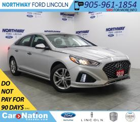 Used 2019 Hyundai Sonata Essential | SPORT | LEATHER | SUNROOF | PUSH START for sale in Brantford, ON