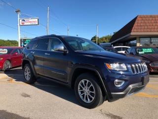 Used 2015 Jeep Grand Cherokee Limited for sale in Cobourg, ON
