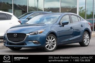 Used 2017 Mazda MAZDA3 GT MAZDA 3 GT 2017 TOUT ÉQUIPÉ COMME NEUF BAS KILO for sale in Lachine, QC