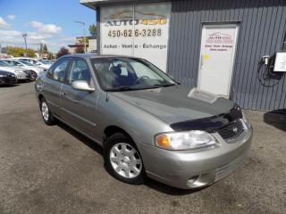 Used 2002 Nissan Sentra ***GXE,XTRA CLEAN,BAS KILOMETRAGE,A/C*** for sale in Longueuil, QC