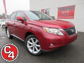 Used 2010 Lexus RX 350 TOURING AWD CUIR NAVI TOIT MAGS CAM RECULE for sale in St-Jérôme, QC