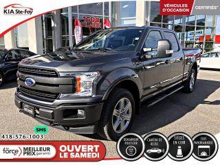 Used 2019 Ford F-150 Lariat *SUPERCREW *TOIT PANORAMIQUE *4X4 *A/C for sale in Québec, QC