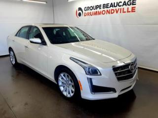 Used 2014 Cadillac CTS Luxury for sale in Drummondville, QC