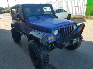 Used 2005 Jeep Wrangler 2005 JEEP WRANGLER / TJ UNLIMITED LWB-ac-4x4 for sale in Oakville, ON