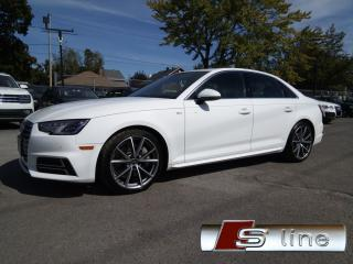 Used 2017 Audi A4 S-LINE NAVIGATION MAGS RS 19 CAMERA VOLANT SPORT for sale in St-Eustache, QC