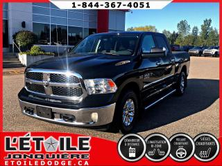 Used 2017 RAM 1500 SLT PLUS CREWCAB 4X4 5.7L, CLIMATISATIO for sale in Jonquière, QC