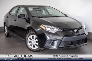 Used 2016 Toyota Corolla CE AUTOMATIQUE  A/C for sale in Ste-Julie, QC