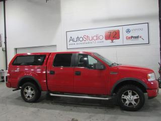 Used 2005 Ford F-150 FX4 **4X4**SuperCrew**5.4L**BOITE DE FIB for sale in Mirabel, QC