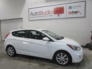 Used 2013 Hyundai Accent GLS HB **AUTO**MAGS**TOIT**SIEGES CHAUFF for sale in Mirabel, QC