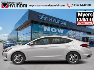 New 2020 Hyundai Elantra Preferred w/Sun & Safety Package IVT  - $150 B/W for sale in Nepean, ON
