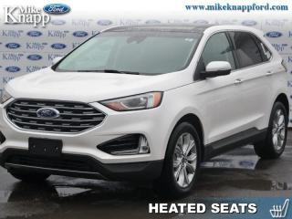 Used 2019 Ford Edge Titanium AWD  - Navigation - Sunroof for sale in Welland, ON