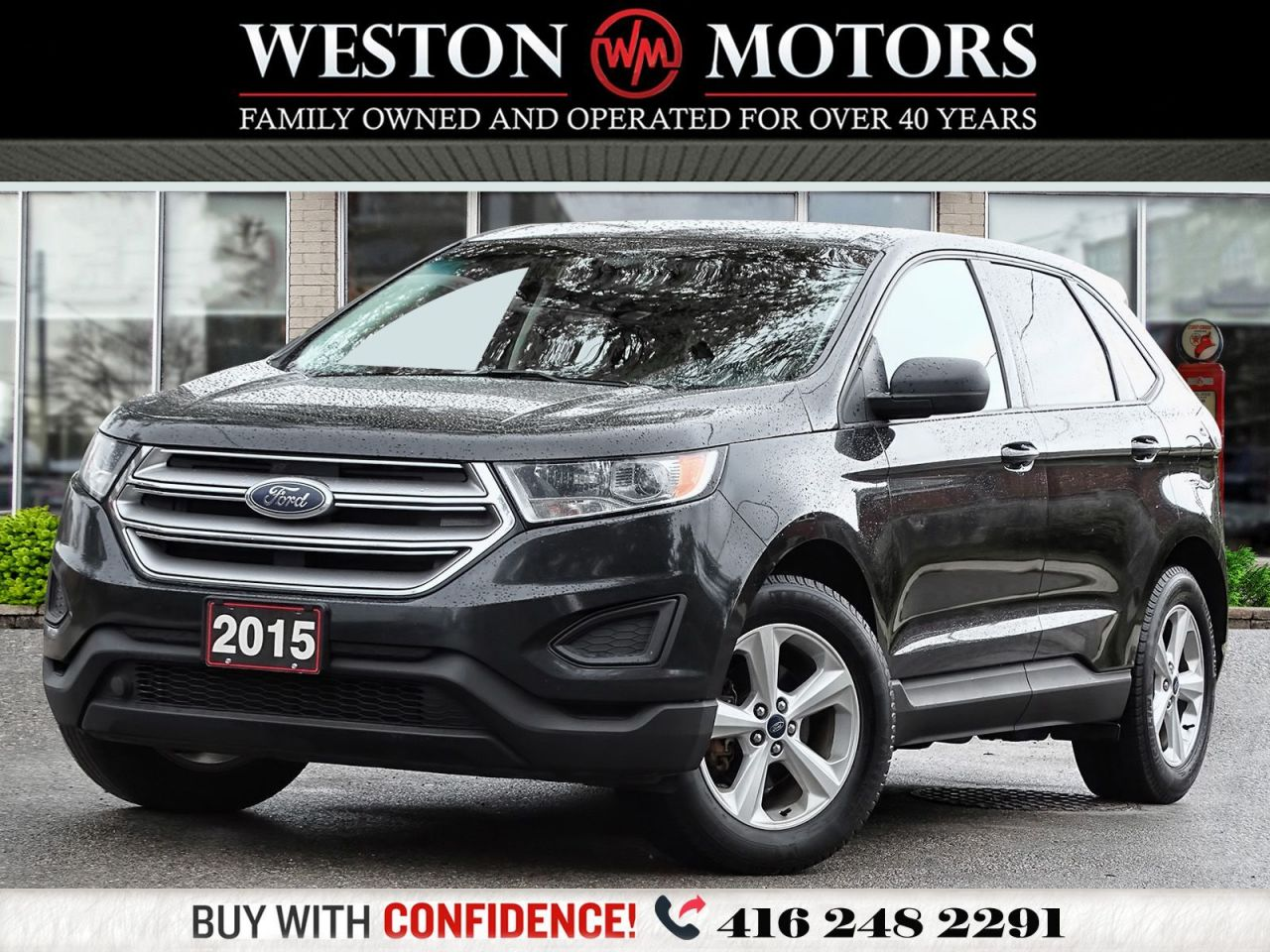 2015 Ford Edge REV CAM*BLUETOOTH*POWER GROUP!!*PRICED TO SELL!!*
