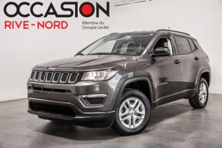 Used 2018 Jeep Compass Sport 4x4 BLUETOOTH+MAGS+A/C+SIÈGE CHAUFFANT for sale in Boisbriand, QC