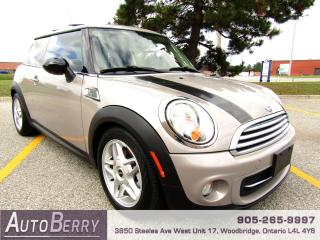 Used 2012 MINI Cooper Baker Street Edition - 6 Speed for sale in Woodbridge, ON