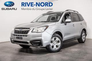 Used 2017 Subaru Forester BLUETOOTH+CAM DE RECUL+SIÈGES CHAUFFANTS for sale in Boisbriand, QC