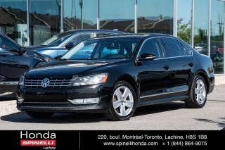 Used 2012 Volkswagen Passat HIGHLINE AUTO CUIR TOIT GPS AUTO AC CUIR TOIT OUVRANT GPS++ for sale in Lachine, QC