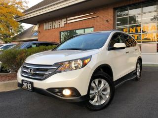 Used 2013 Honda CR-V AWD Touring Sunroof Navi Rear Cam Certified* for sale in Concord, ON