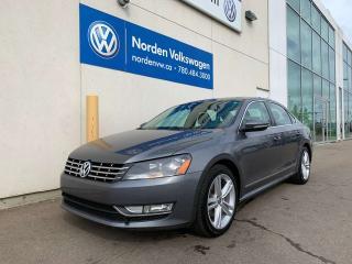 Used 2012 Volkswagen Passat 2.0L TDI DIESEL - HIGHLINE W/ SPORT PKG for sale in Edmonton, AB