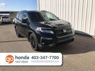 Used 2020 Honda Pilot Black Edition Sunroof Navigation Cooled Seats for sale in Red Deer, AB
