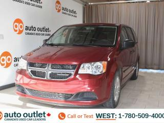 Used 2016 Dodge Grand Caravan Canada value package, 3.6L V6, Third row 7 passenger seating, Cloth seats for sale in Edmonton, AB