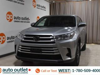 Used 2018 Toyota Highlander Le, 3.5L V6, Awd, Third row 8 passenger seating, Cloth seats, Backup camera for sale in Edmonton, AB
