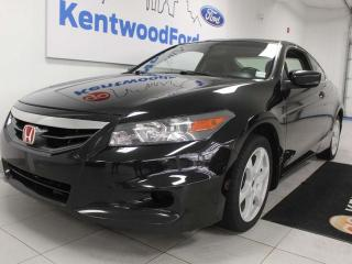 Used 2011 Honda Accord Cpe EXL FWD Coupe with power heated seats and sunroof for sale in Edmonton, AB
