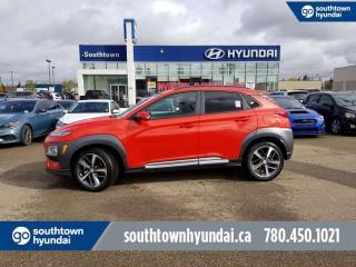 Used 2020 Hyundai KONA Ultimate - 1.6T Turbo/Nav/Wireless Charging g rbo/Nav/Wireless Charging for sale in Edmonton, AB