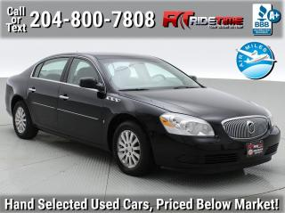 Used 2008 Buick Lucerne CX for sale in Winnipeg, MB