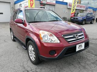 Used 2006 Honda CR-V Accident Free | EX-L | AWD | Sunroof | Leather for sale in Oakville, ON