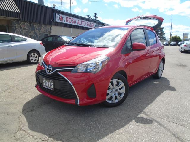 2015 Toyota Yaris 5dr HB Auto LE LOW KM B-TOOTH A/C PW PL PM CRUISE