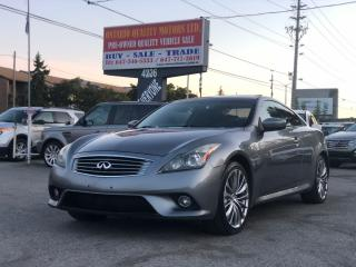 Used 2011 Infiniti G37 Sport for sale in Toronto, ON