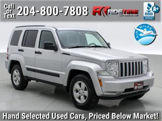 Used 2012 Jeep Liberty Sport for sale in Winnipeg, MB