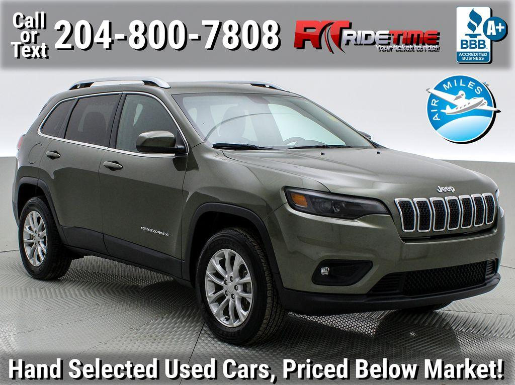 Used Cars For Sale In Winnipeg >> Used 2019 Jeep Cherokee North For Sale In Winnipeg Manitoba