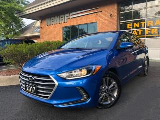 Used 2017 Hyundai Elantra Rear Cam Remote Starter Heated Seats Certified* for sale in Concord, ON